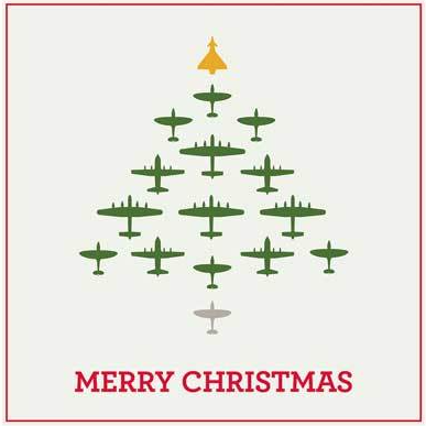 Aircraft Tree card